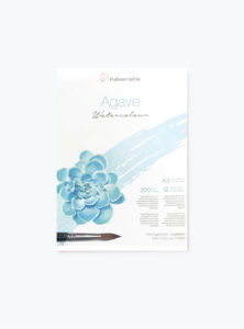 Agave-akvarelpapir-A3-Hahnemuhle